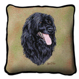 Portuguese Water Dog Pillow