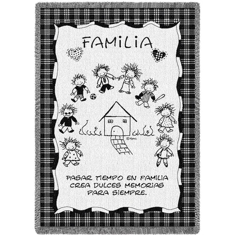 Family Memories Spanish Blanket