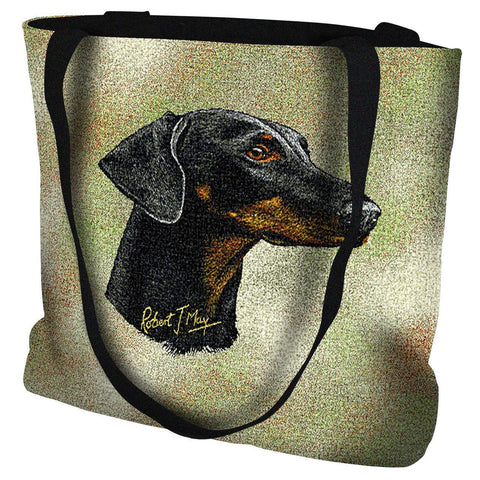 Doberman Pinscher 2 Tote Bag