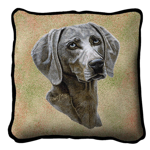 Weimaraner Pillow Cover
