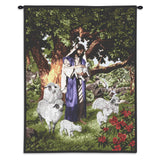 Psalm 23 Wall Tapestry With Rod