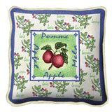 Alsacian Apple Pillow