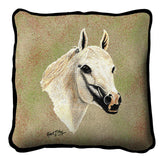 Arabian White Pillow Cover