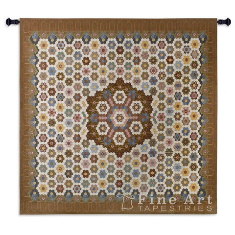 Honeycomb Quilt Wall Tapestry