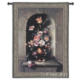 Flowers Of Antiquity I Wall Tapestry