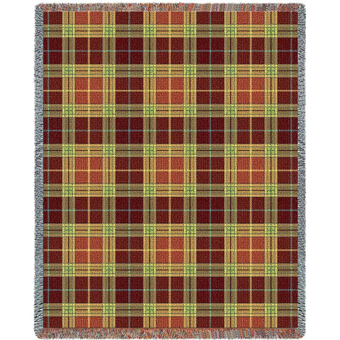 Woods Plaid Blanket