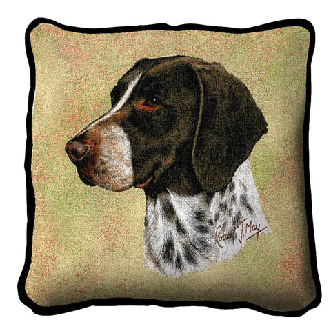 German Shorthaired Pointer Pillow