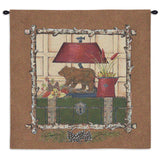 Northern Exposure II Wall Tapestry With Rod