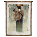 Worldly Woman Wall Tapestry