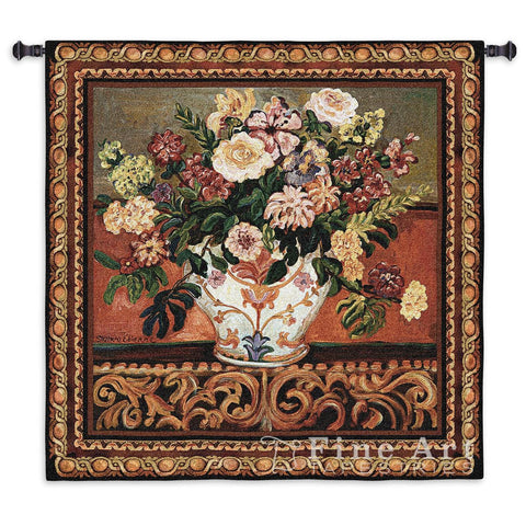 Gena's Vase Small Wall Tapestry