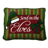 Send In The Elves Pillow