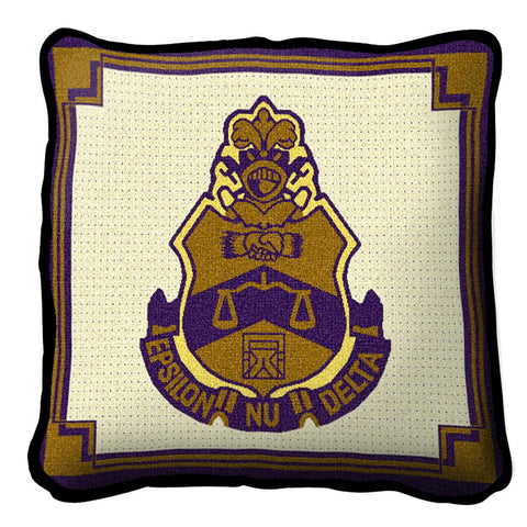 Epsilon Nu Delta Pillow