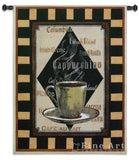 Cappuchino Time II Wall Tapestry