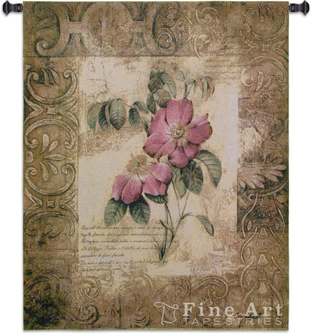 Blossoming Elegance III Medium Wall Tapestry