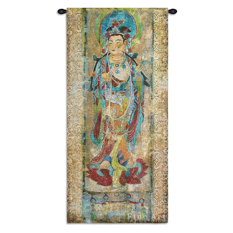 Lotus II Wall Tapestry