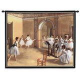 Dance Foyer Wall Tapestry With Rod