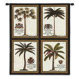 Royal Palm Wall Tapestry With Rod