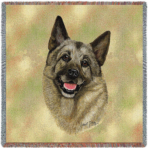 Norwegian Elkhound Small Blanket