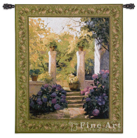 Jardi Interior Claustre Wall Tapestry