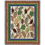 Woodpecker William Morris Gold Wall Tapestry