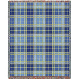 Blue Bell Plaid Blanket