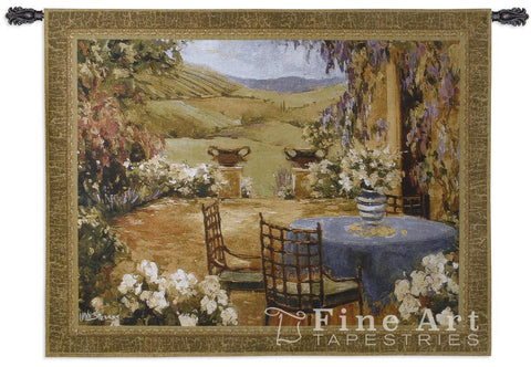 Countryside Terrace Wall Tapestry