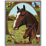 Thoroughbred Mare and Foal Blanket