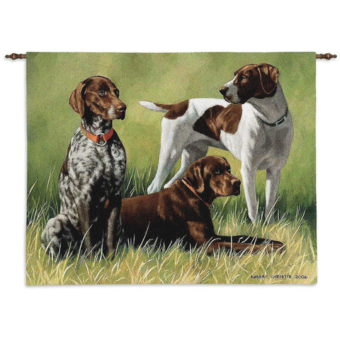 Variations On A Breed Wall Tapestry with Rod