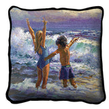 Surf Dancers Pillow