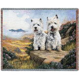 West Highland White Terrier 2 Blanket