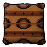 Southwest Geometric Tan Pillow