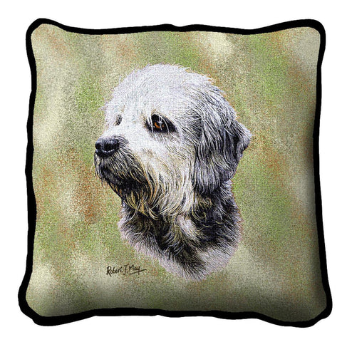 Dandie Dinmont Pillow Cover