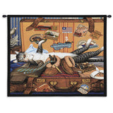 Mabel The Stowaway Wall Tapestry With Rod