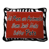 All Men Pillow