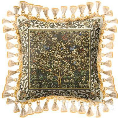 Tree Of Life Umber Pillow