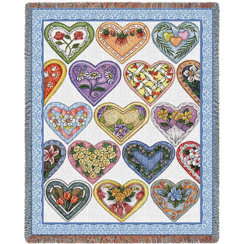 Hearts To You-Wod 10 Blanket