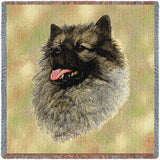 Keeshond Small Blanket