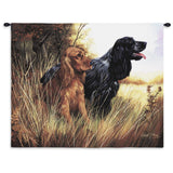 Cocker Spaniel Wall Tapestry with Rod
