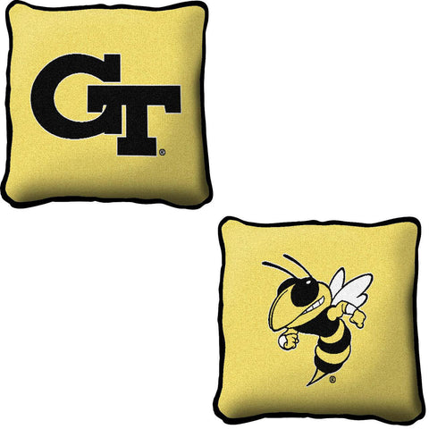 Georgia Institute of Technology Logo Pillow