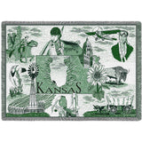 Monogram Medallion K Wall Tapestry
