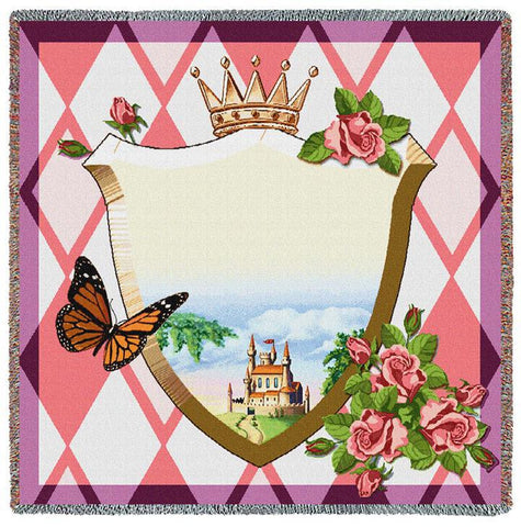 Fairest in the Land Strawberry Small Blanket