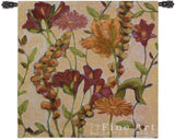 Garden Blooms Small Wall Tapestry