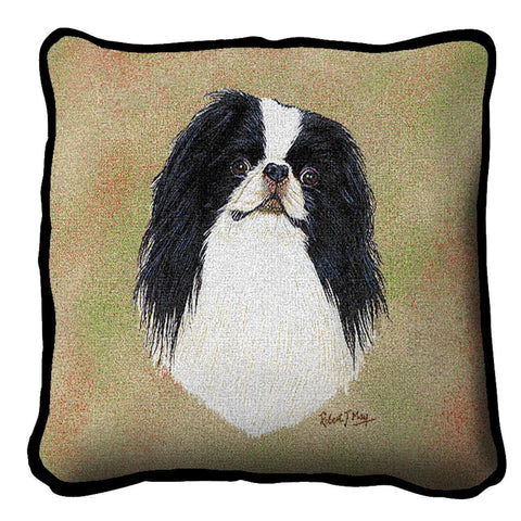 Japanese Chin Pillow Cover