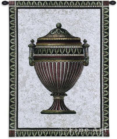 Empire Urn I Wall Tapestry