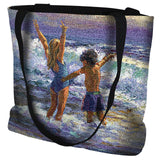 Surf Dancers Tote Bag