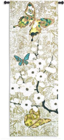 Spring Unfolding Wall Tapestry