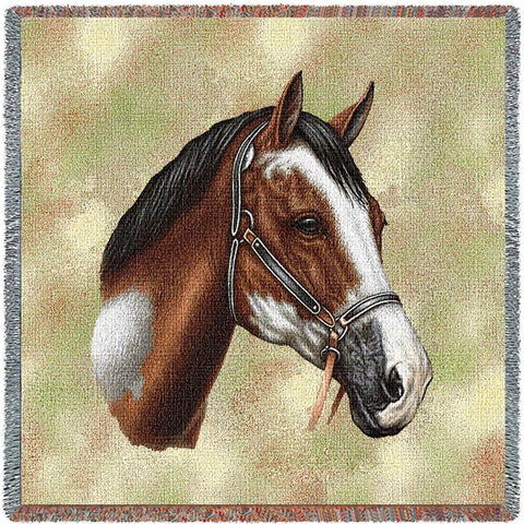 Paint Horse Small Blanket