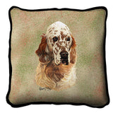 English Setter Pillow Cover