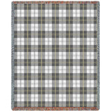 Soft Greyish Plaidw Blanket