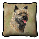 Cairn Terrier 2 Pillow